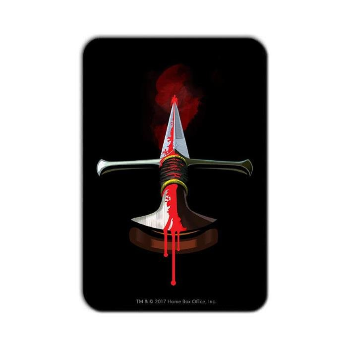 Stick Them With The Pointy End: Beautiful Death - Game Of Thrones Official Fridge Magnet