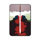 Swing the Sword: Beautiful Death - Game Of Thrones Official Fridge Magnet