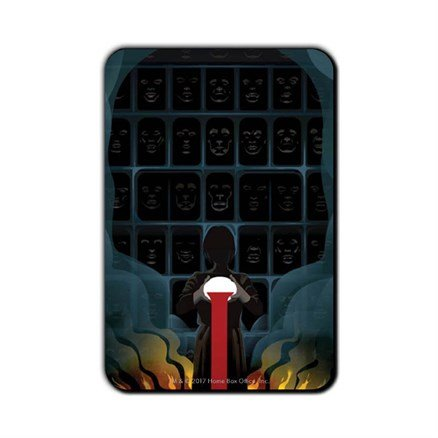 We Never Stop Playing: Beautiful Death - Game Of Thrones Official Fridge Magnet