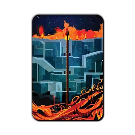 You Know Nothing: Beautiful Death - Game Of Thrones Official Fridge Magnet
