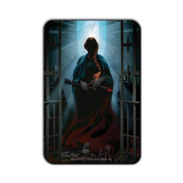 Your Name Will Disappear: Beautiful Death - Game Of Thrones Official Fridge Magnet