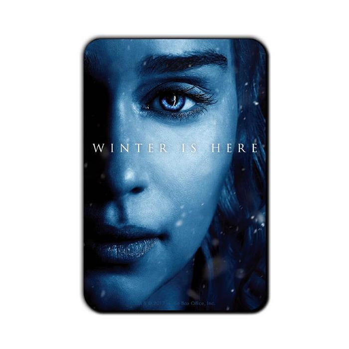 Daenerys Targaryen: Winter Is Here - Game Of Thrones Official Fridge Magnet
