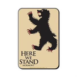 Here We Stand - Game Of Thrones Official Fridge Magnet