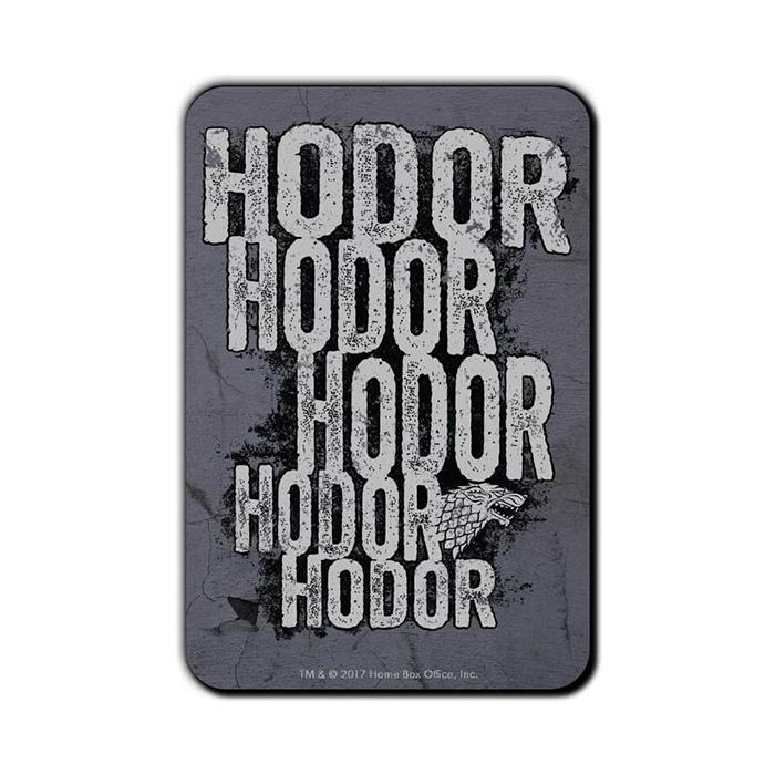 Hodor - Game Of Thrones Official Fridge Magnet