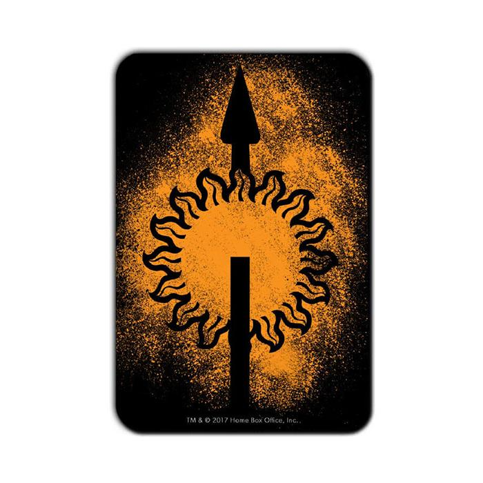 House Martell Sigil Splatter - Game Of Thrones Official Fridge Magnet