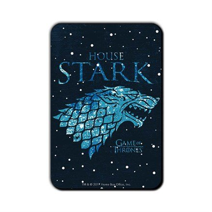 House Stark Ice - Game Of Thrones Official Fridge Magnet
