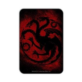 House Targaryen Sigil Splatter - Game Of Thrones Official Fridge Magnet