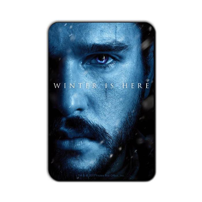 Jon Snow: Winter Is Here - Game Of Thrones Official Fridge Magnet