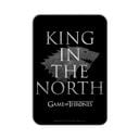 King In the North: Black - Game Of Thrones Official Fridge Magnet