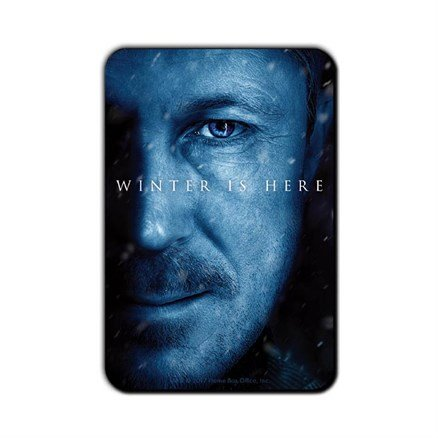 Littlefinger: Winter Is Here- Game Of Thrones Official Fridge Magnet