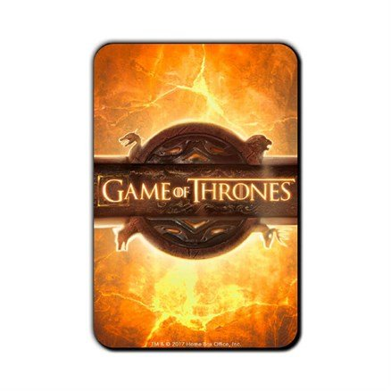 Opening Sequence - Game Of Thrones Official Fridge Magnet