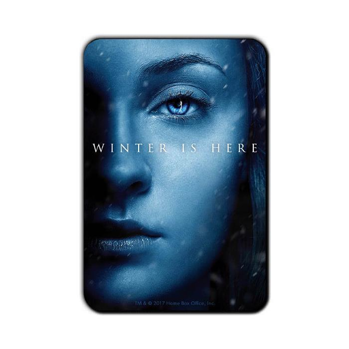 Sansa Stark: Winter Is Here - Game Of Thrones Official Fridge Magnet