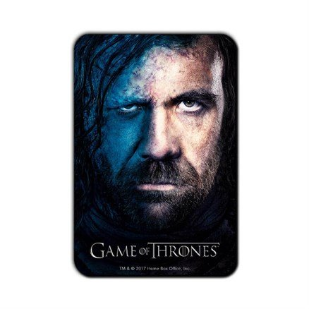 The Hound - Game Of Thrones Official Fridge Magnet