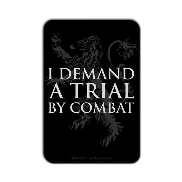Trial By Combat - Game Of Thrones Official Fridge Magnet