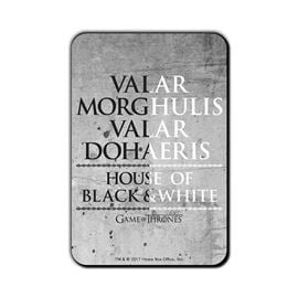 Valar Morghulis - Game Of Thrones Official Fridge Magnet