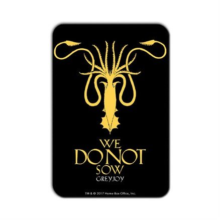 We Do Not Sow - Game Of Thrones Official Fridge Magnet
