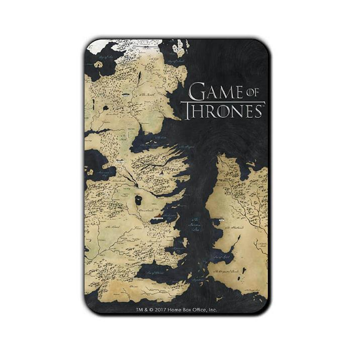 Westeros - Game Of Thrones Official Fridge Magnet