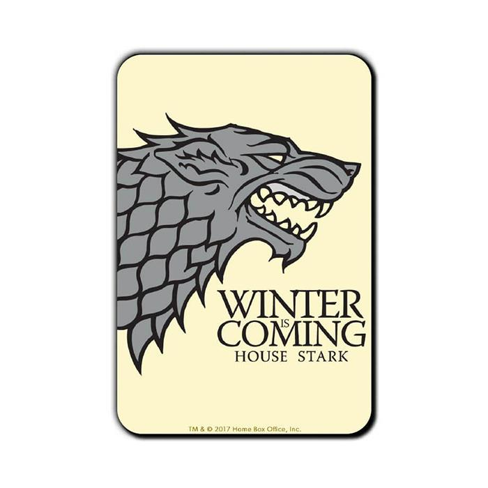 Winter Is Coming - Game Of Thrones Official Fridge Magnet