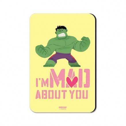 I'm Mad About You - Marvel Official Fridge Magnet
