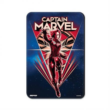 Captain Marvel Illustration - Marvel Official Fridge Magnet