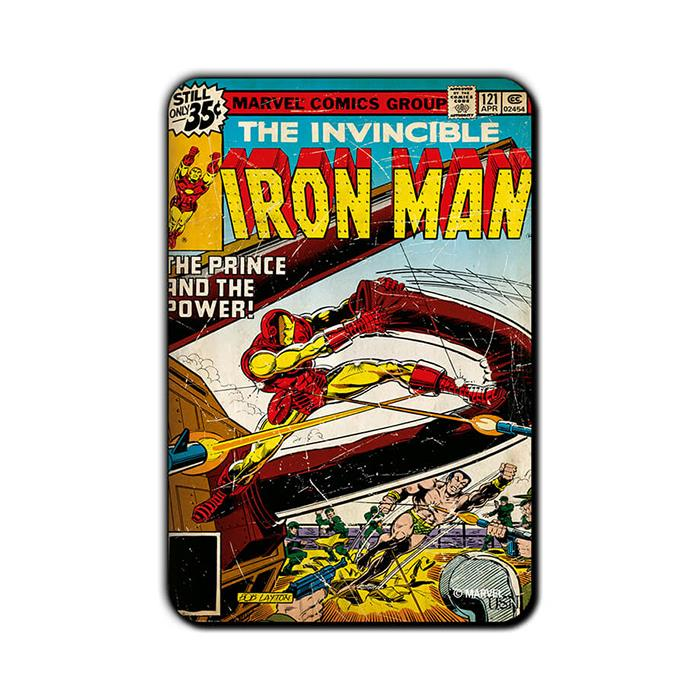 Iron Man Invincible - Official Iron Man Fridge Magnet