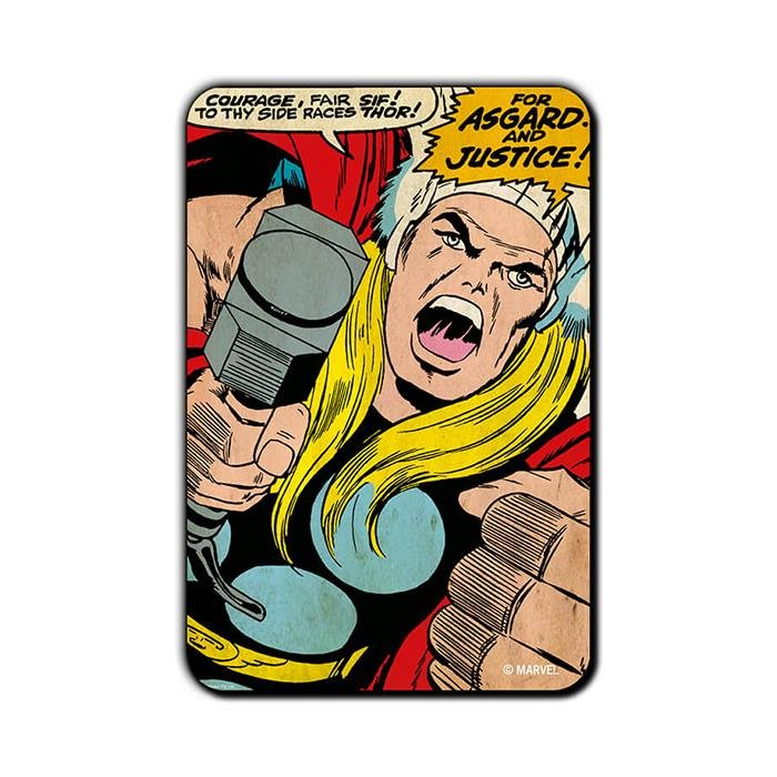 Thor For Justice - Official Thor Fridge Magnet