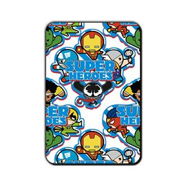 Super Heroes All - Kawaii - Official Iron Man  Fridge Magnet