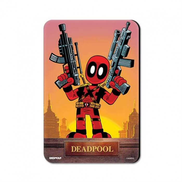 Kawaii Deadpool - Marvel Official Fridge Magnet