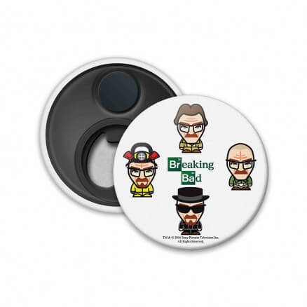 Characters -Breaking Bad Official Fridge Magnet