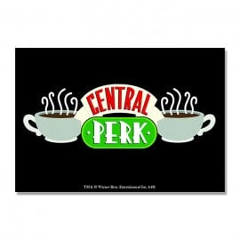 Friends: Central Perk - Rectangle Fridge Magnet