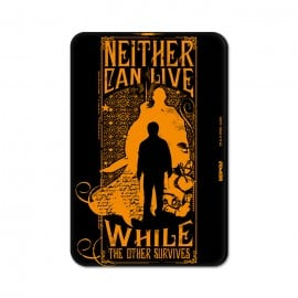 Neither Can Live - Harry Potter Official Fridge Magnet