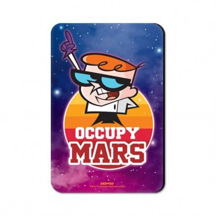 Occupy Mars - Dexter's Laboratory Official Fridge Magnet