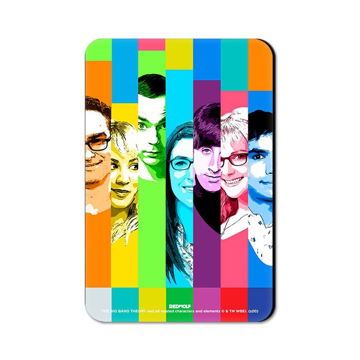 Pop Stripes - The Big Bang Theory Official Fridge Magnet
