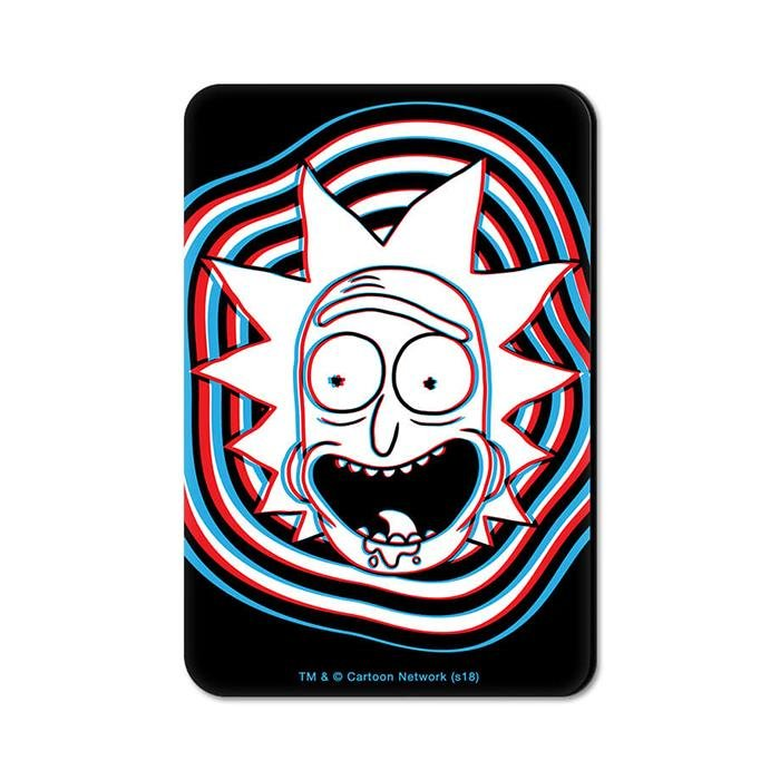 Glitch - Rick And Morty Official Fridge Magnet