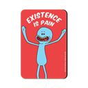 Mr. Meeseeks: Existence Is Pain - Rick And Morty Official Fridge Magnet
