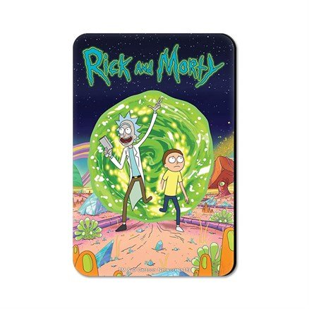 Ricksy Business - Rick And Morty Official Fridge Magnet