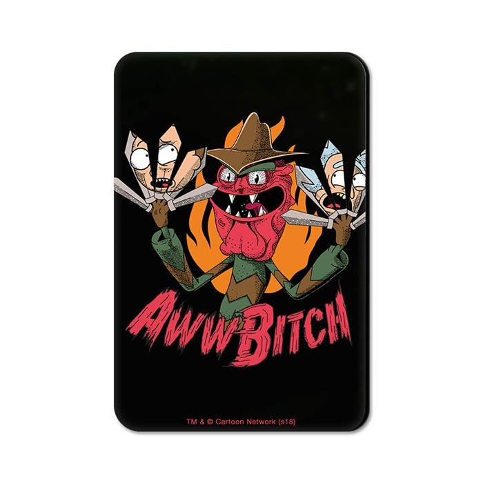Scary Terry: Aww Bitch - Rick And Morty Official Fridge Magnet