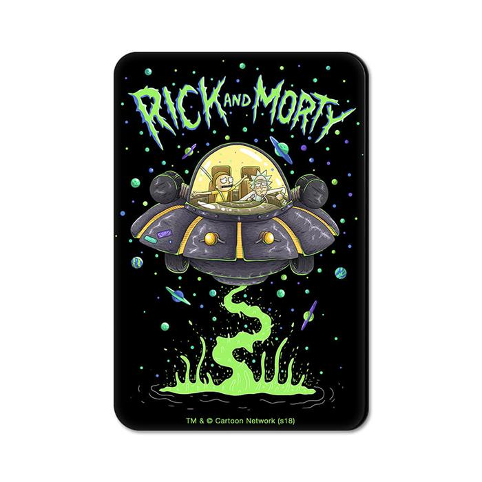 Space Cruiser - Rick And Morty Official Fridge Magnet