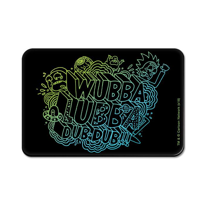 Wubba Lubba Dub Dub - Rick And Morty Official Fridge Magnet