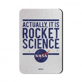 Rocket Science - NASA Official Fridge Magnet