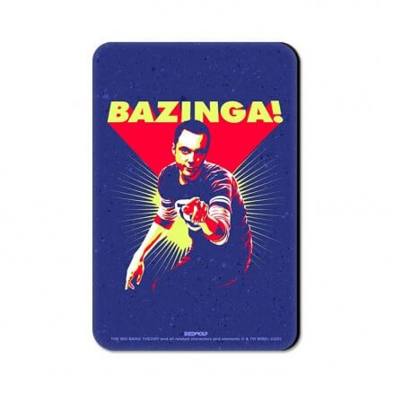 Sheldon Bazinga - The Big Bang Theory Official Fridge Magnet