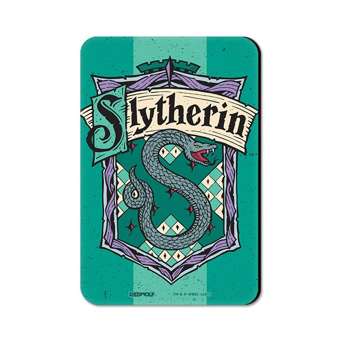 Slytherin Crest - Harry Potter Official Fridge Magnet