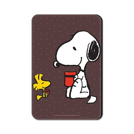 Coffee Makes Everything Better - Peanuts Official Fridge Magnet