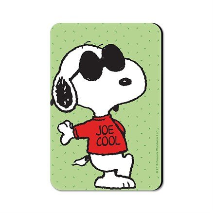 Joe Cool - Peanuts Official Fridge Magnet