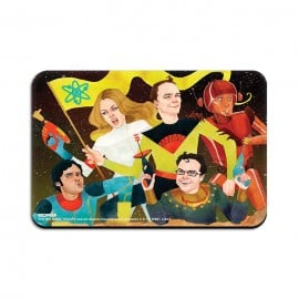 Space Rangers - The Big Bang Theory Official Fridge Magnet
