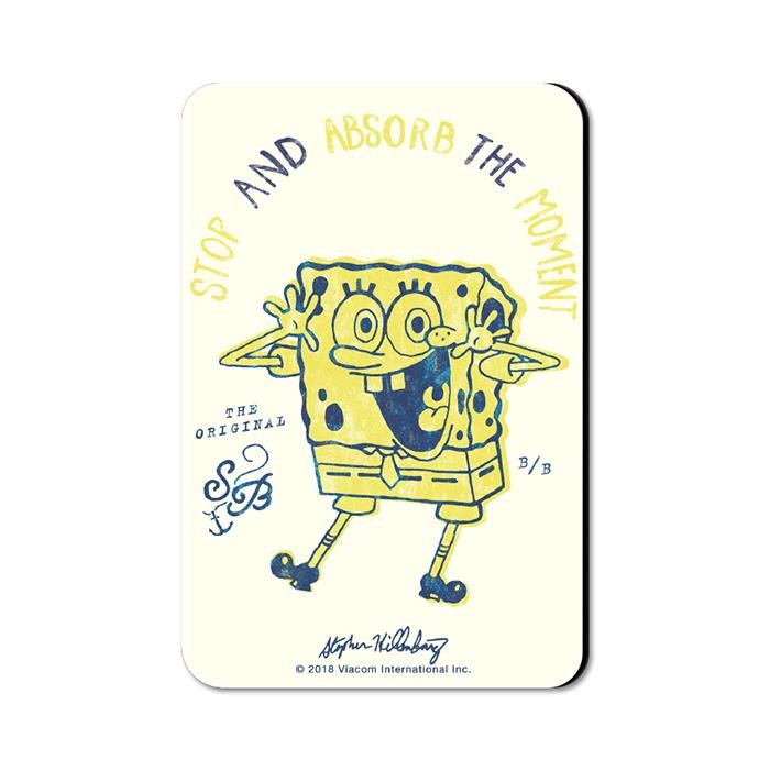 Absorb The Moment - SpongeBob SquarePants Official Fridge Magnet