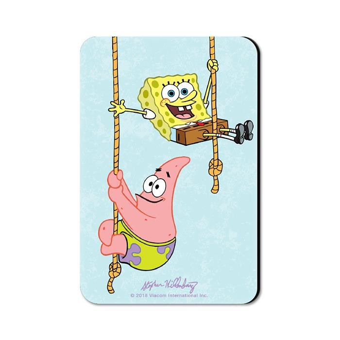 Best Buddies - SpongeBob SquarePants Official Fridge Magnet
