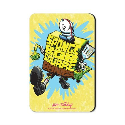 Employee Of The Month - SpongeBob SquarePants Official Fridge Magnet