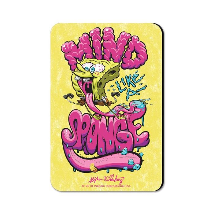 Mind Like A Sponge -SpongeBob SquarePants Official Fridge Magnet