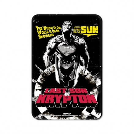 Last Son Of Krypton - Superman Official Fridge Magnet
